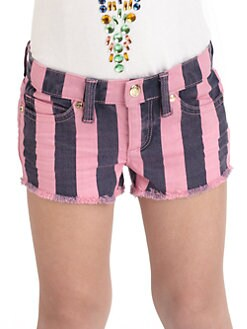 Juicy Couture - Toddler's & Little Girl's Striped Shorts
