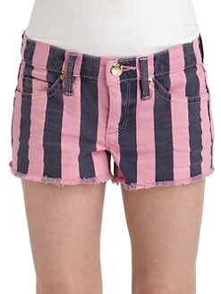 Juicy Couture - Girl's Striped Shorts