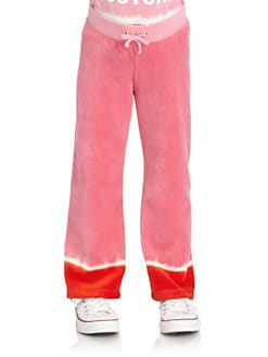 Juicy Couture - Toddler's & Little Girl's Dip Dye Velour Pants