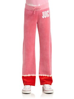 Juicy Couture - Toddler's & Little Girl's Dip Dye Terry Pants