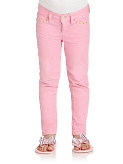 Juicy Couture - Toddler's & Little Girl's Studded Crop Pants
