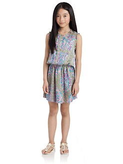 Juicy Couture - Girl's Bohemian Floral Dress