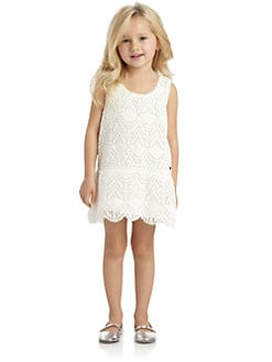 Juicy Couture - Little Girl's Crochet Lace Mini Dress