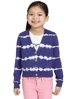 Juicy Couture - Toddler's & Little Girl's Taj Tie-Dyed Cardigan