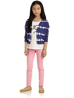 Juicy Couture - Girl's Taj Tie-Dyed Cardigan