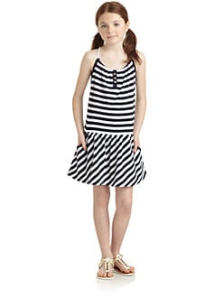 Juicy Couture - Girl's Malibu Striped Dress