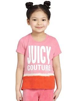 Juicy Couture - Toddler's & Little Girl's Dip Dye Tee