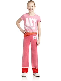 Juicy Couture - Girl's Dip Dye Tee