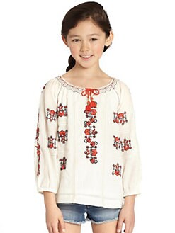 Juicy Couture - Girl's Embroidered Top