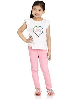 Juicy Couture - Toddler's & Little Girl's Friendship Tee