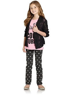 Juicy Couture - Girl's Lace Blazer