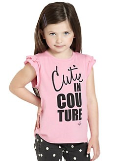 Juicy Couture - Toddler's & Little Girl's Cutie In Couture Tee