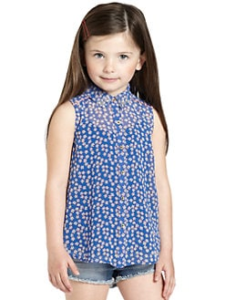 Juicy Couture - Toddler's & Little Girl's Pinwheel Blouse