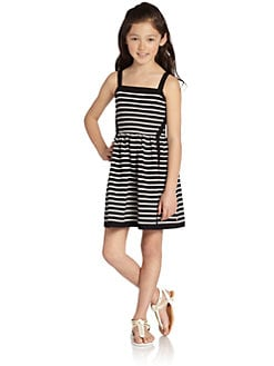 Juicy Couture - Girl's Striped Ottoman Dress