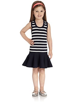 Juicy Couture - Toddler's & Little Girl's Striped Angora Dress