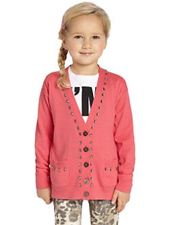 Juicy Couture - Little Girl's Crystal Cardigan