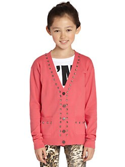 Juicy Couture - Girl's Crystal Cardigan