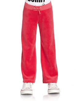 Juicy Couture - Toddler's & Little Girl's Velour Pants