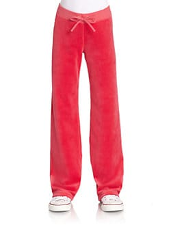 Juicy Couture - Girl's Velour Pants