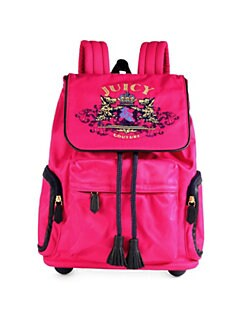 Juicy Couture - Girl's Nylon Billie Rolling Backpack