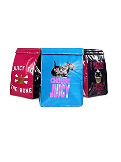 Juicy Couture - Girl's 3-Pack Lunch Bag Set