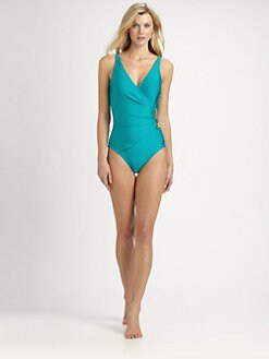 Gottex Swim - One-Piece Ishtar Wrap Swimsuit