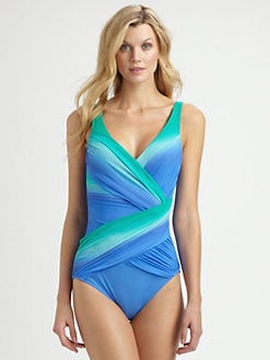 Gottex Swim - One-Piece Rainbow Goddess Swimsuit