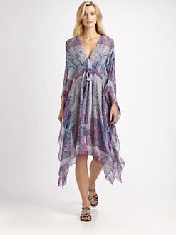 Gottex Swim - Silk Folklore Caftan