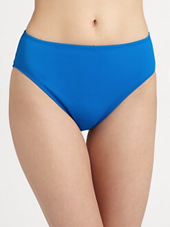 Gottex Swim - Amethyst Solid High-Leg Brief