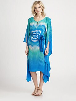 Gottex Swim - Silk Amethyst Caftan