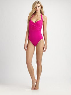 Gottex Swim - One-Piece Beach Goddess Halter Swimsuit
