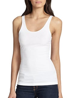 James Perse - Ribbed Tank Top