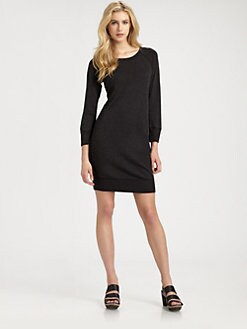 James Perse - Raglan Sweatshirt Dress