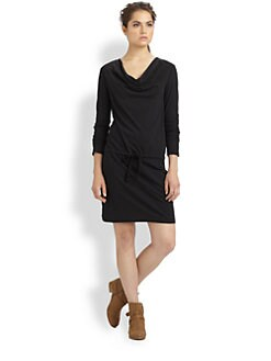 James Perse - Cowlneck Dress