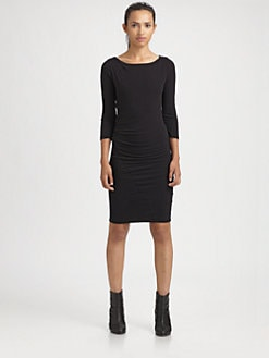 James Perse - Knit Boatneck Dress