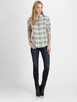 James Perse - Sail Plaid Shirt