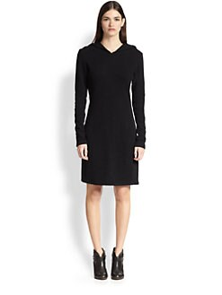 James Perse - Hooded Jersey Dress