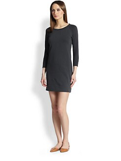 James Perse - Raglan-Sleeved Sweatshirt Dress