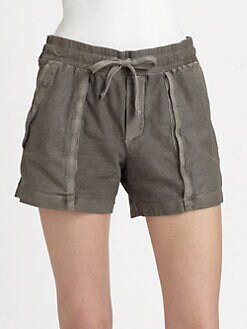 James Perse - Pleated Surplus Shorts