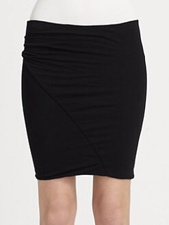 James Perse - Asymmetric Tuck Skirt