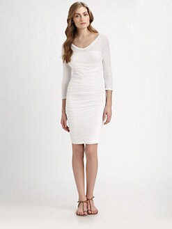 James Perse - Multi-Layered Gathered Dress