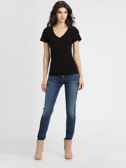 James Perse - V-Neck Top
