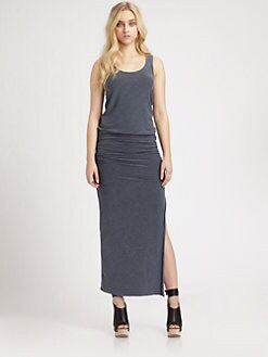 James Perse - Side-Slit Tank Dress