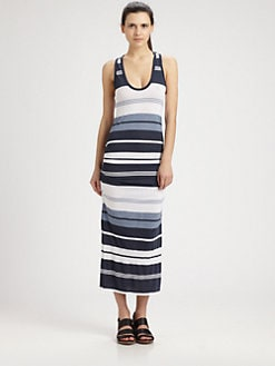 James Perse - Pacific Striped Maxi Dress