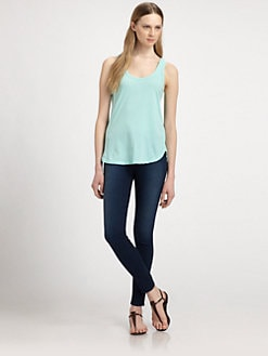 James Perse - Baseball Tank Top