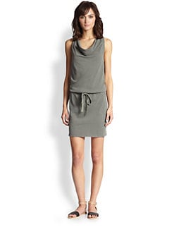 James Perse - Sanded Jersey Racerback Dress