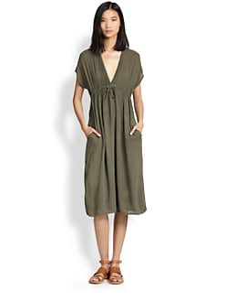 James Perse - Empire-Waisted Voile Dress