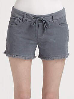 James Perse - Cut-Off Corduroy Shorts