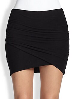 James Perse - Knit Mini Skirt