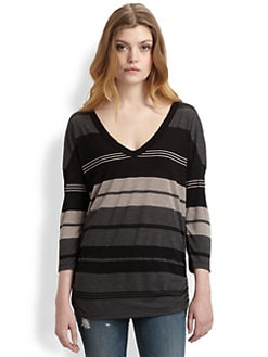 James Perse - Relaxed Striped Top
